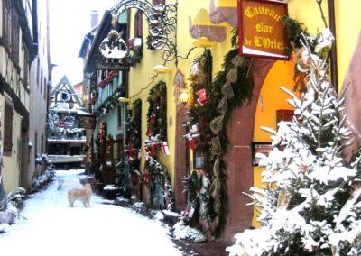 Hôtel à l'Oriel à Noël